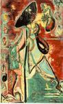 Moon woman - Jackson Pollock